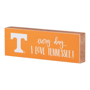 Every Day I Love Tennessee Block Canvas