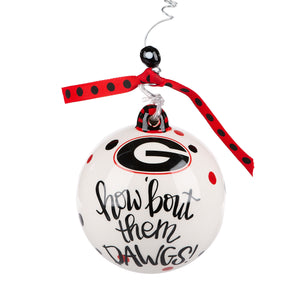 Georgia Uga Ornament