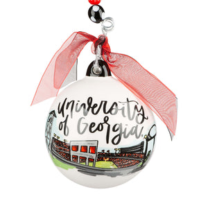 Georgia Landmark Ball Ornament