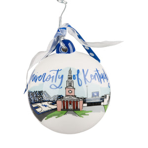 Kentucky Landmark Ball Ornament