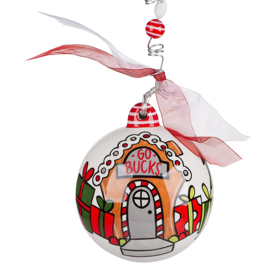 Ohio State Gnome Ornament