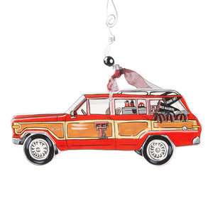Texas Tech Wagoneer ornament