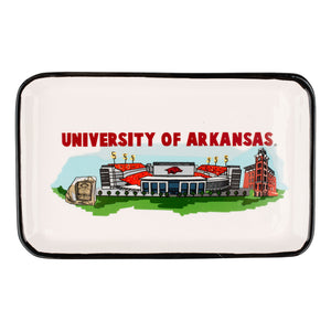 Arkansas Landmark Trinket Tray