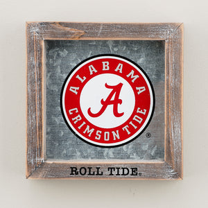 Alabama Roll Tide Family Logo Table Top