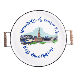 Kentucky Landmark Enamel Tray