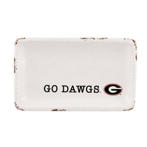 Georgia Logo Trinket Tray