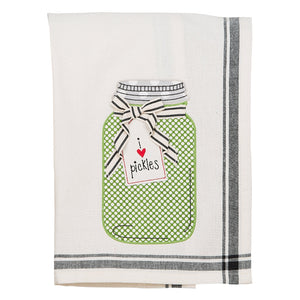 I Love Pickles Tea Towel