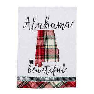 Alabama The Beautiful Tea Towel
