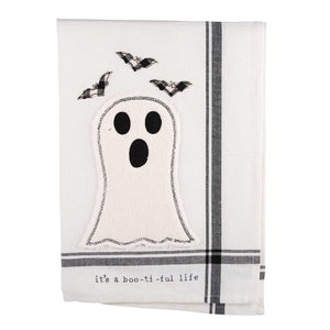 It's A Boo-ti-ful Life Tea Towel