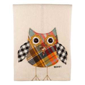 Hoot Owl Tea Towel