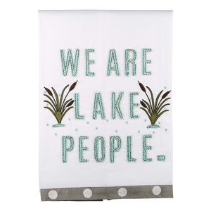 Lake People Tea Towel