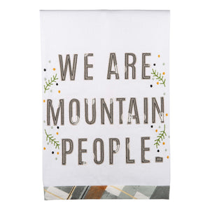Mountain People Tea Towel