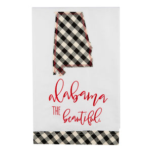 Alabama Beautiful Christmas Tea Towel