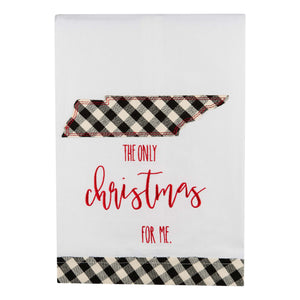 The Only Christmas Tennessee Tea Towel