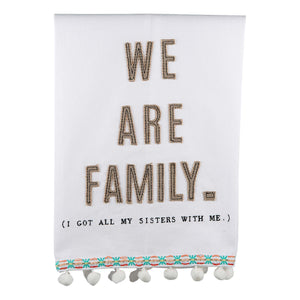 We Are Family Tea Towel