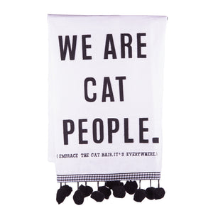 We Are Cat People Tea Towel