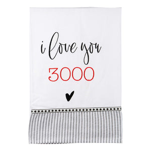 I love you 3000 Tea Towel