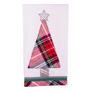 Merry Christmas Tree Tea Towel