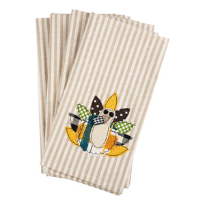Fall Turkey Napkins