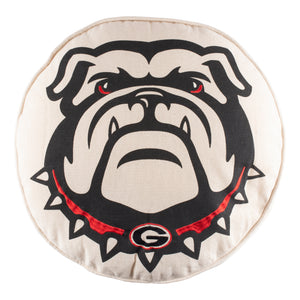 Georgia Bulldog Pillow