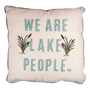 Lake People Pillow