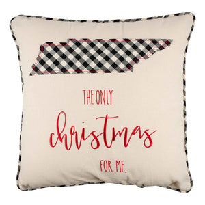 The Only Christmas Tennessee Pillow