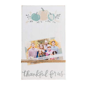 Thankful For Us Twine Frame