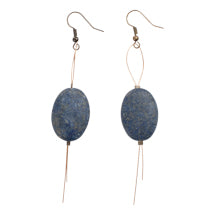 Indigo Wire Earrings