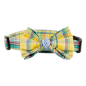 BOW TIE DOG COLLAR (ONE-OF-A-KIND)