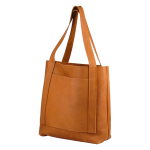 Butterscotch Leather Tote