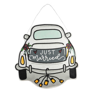 Just Married Car Burlee