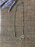Infinity Circle Beaded Necklace
