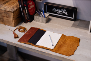 Leather Journal with Insert