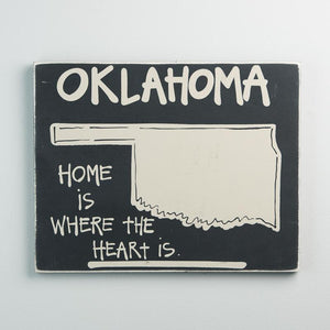 State of Oklahoma Sign 12x15
