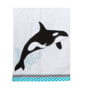 Orca Tea Towel