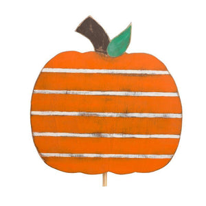 Pumpkin Wood Topper