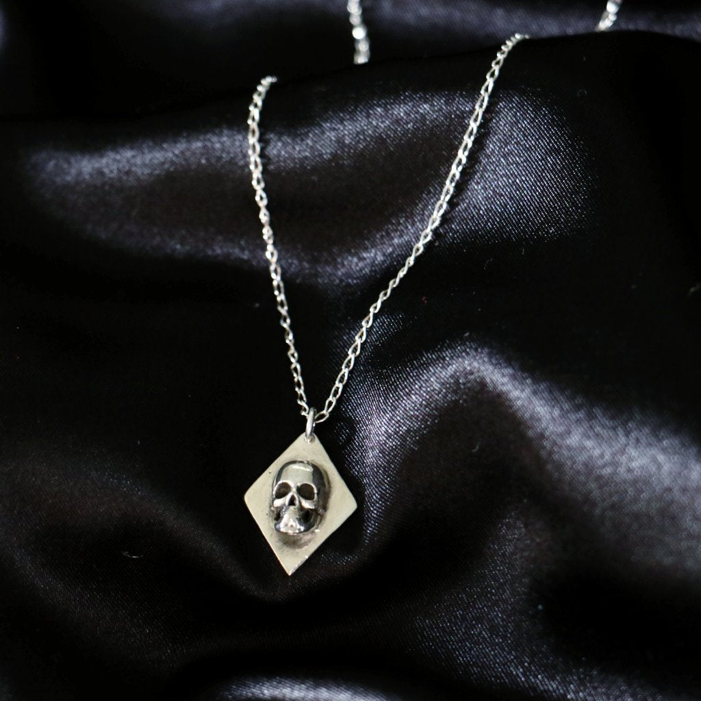 Skull Diamond Necklace