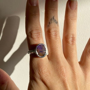 Opal Ring - Size N (7)