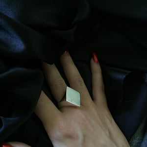 Ace of Diamonds Signet Ring