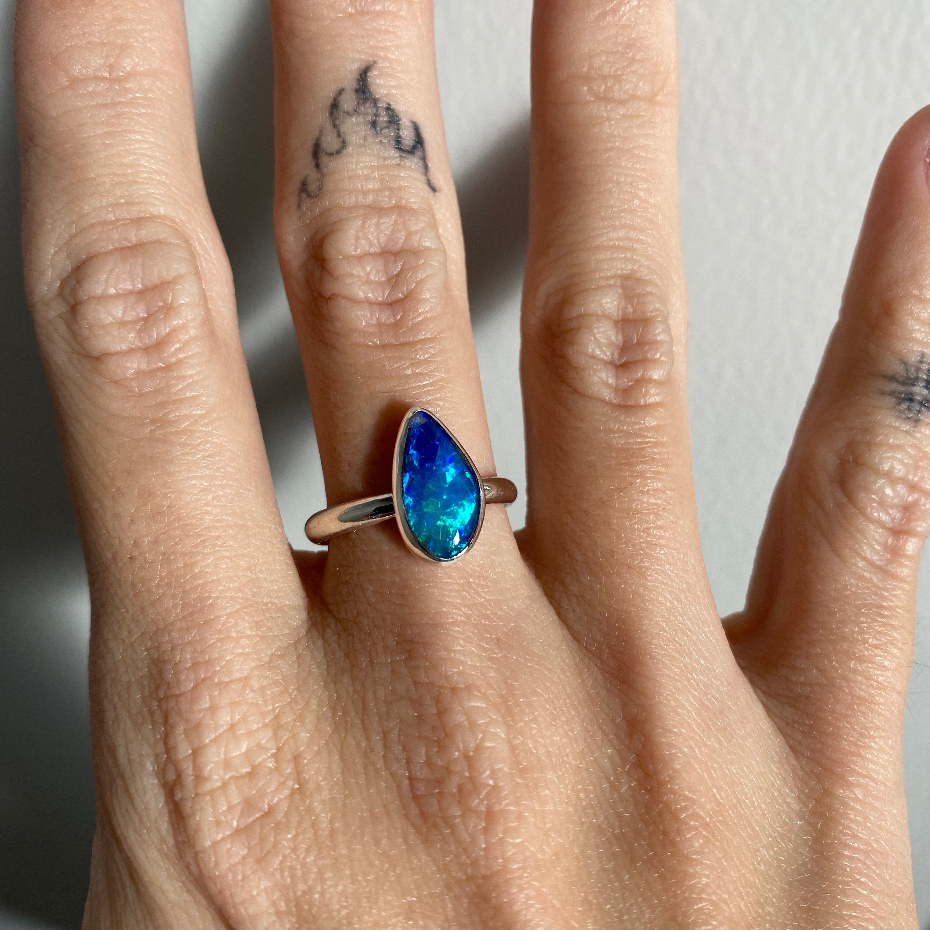 Opal Ring - Size M (6.5)