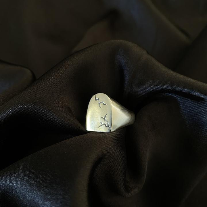 Tombstone Signet Ring