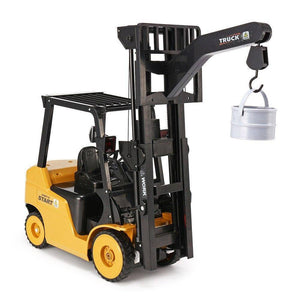 1:10 big scale metal 2-in-1 RC Forklift Truck/Crane RTR