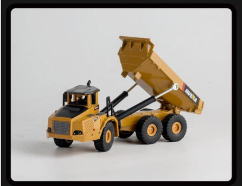 Image of 1:50 Alloy Articulated Dump Truck Model Diecasts & Toy Vehicles