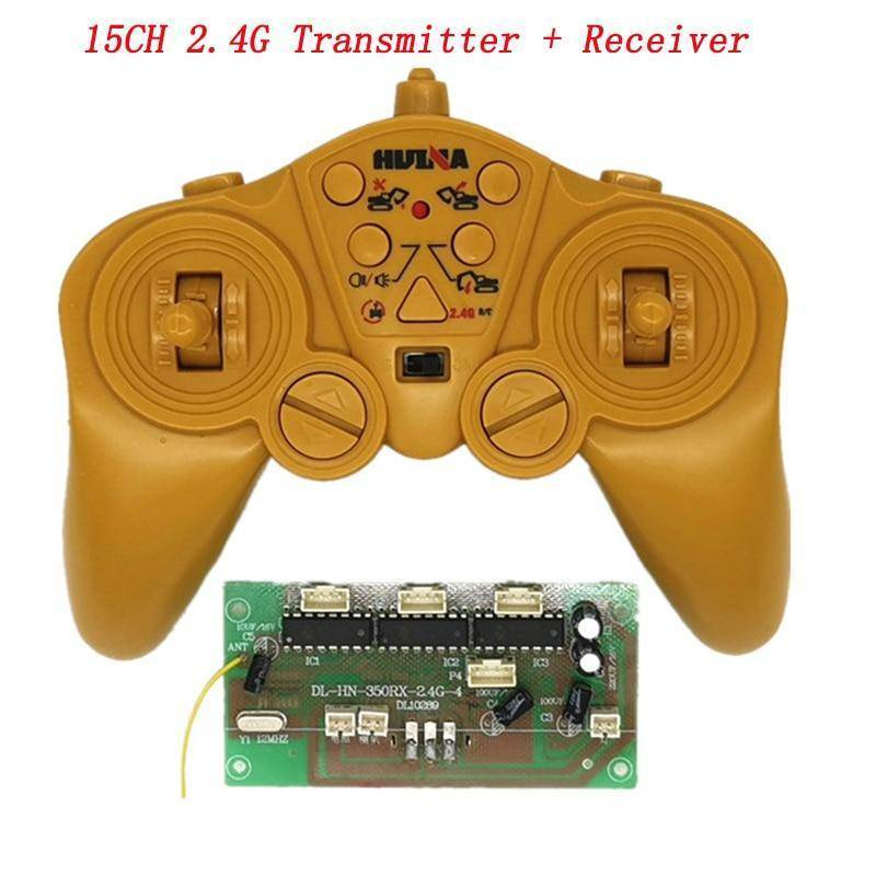 15Ch 2.4G Radio Receiver Parts Dc 3V Transmitter 3.6-8.4V Board For Huina 350/550 50M Wireless