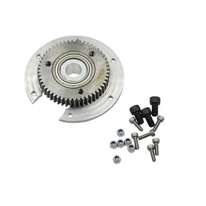 Upgrade Rotary Metal Gear Plate For HUINA 1592 & 1550 RC Excavator