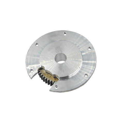 Upgrade Rotary Metal Gear Plate With Pinion For Huina 1592 & 1550 Rc Excavator Parts Accessories