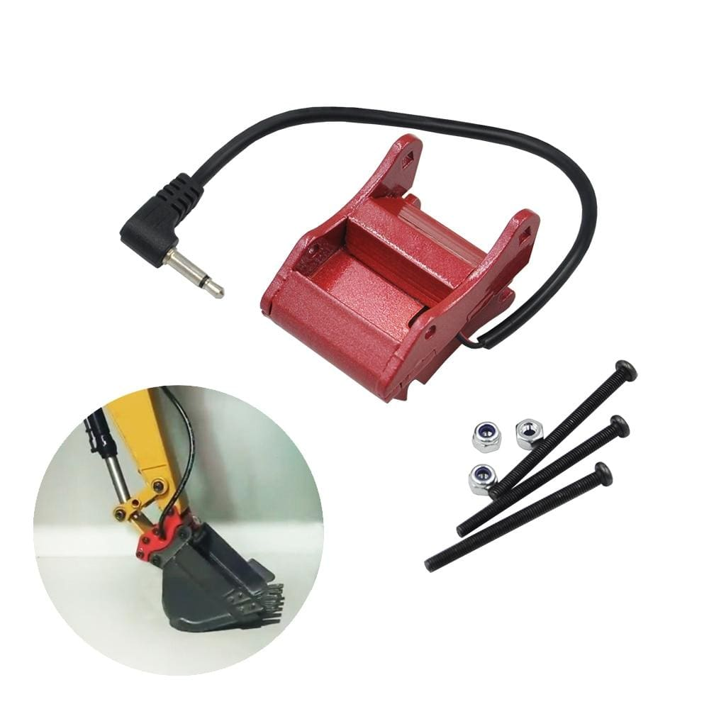 Excavator Automatic Bucket Changer Metal Cnc For Huina 580 1:14 23Ch Rc Full Alloy Part Parts &