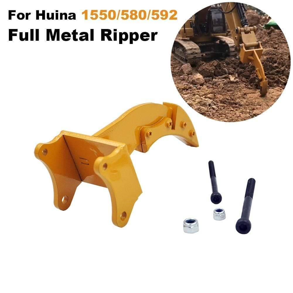 Full Metal Ripper Part For Huina 1550 /580/592 1:14 Rc Excavator Rock Parts & Accessories