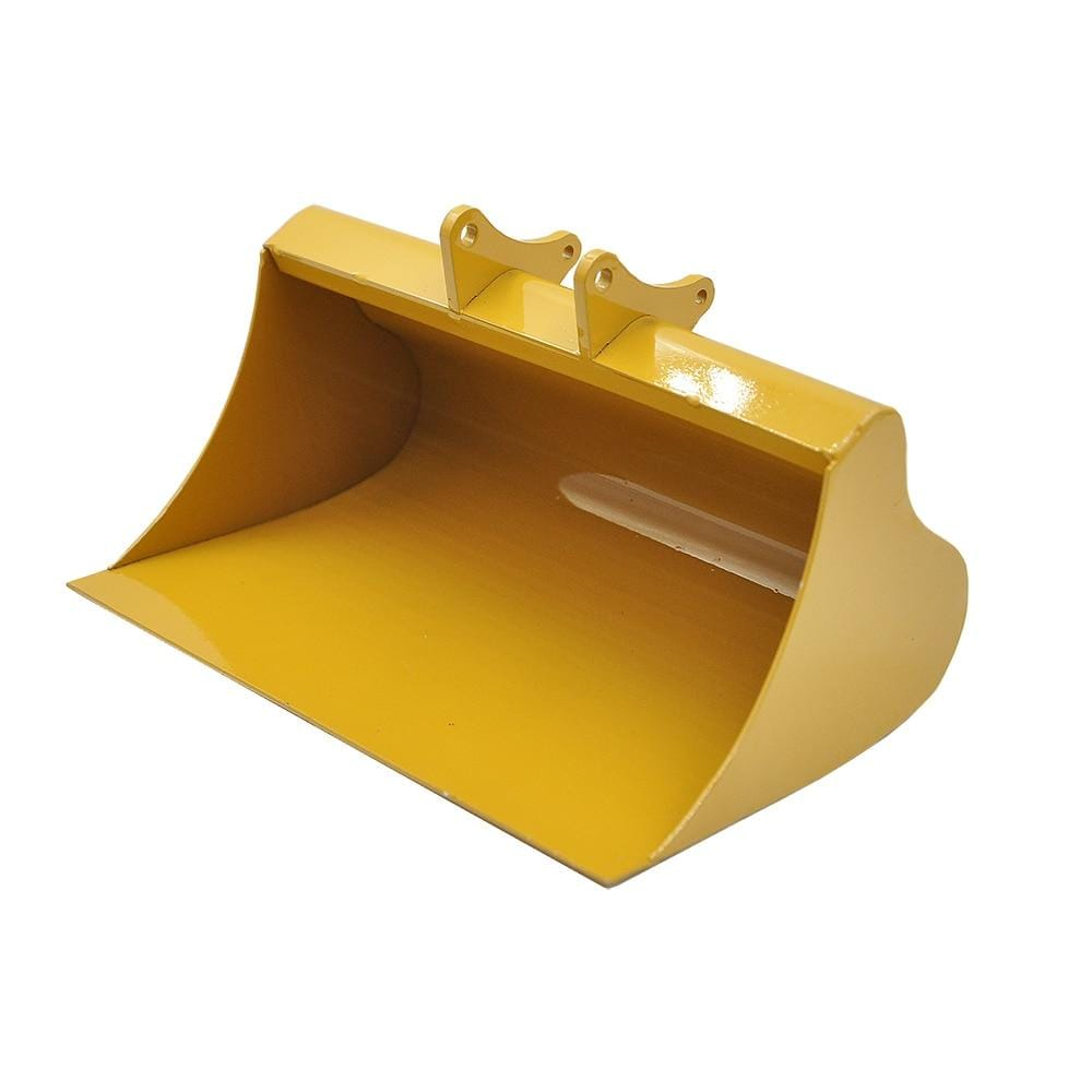 New Big Full Metal Shovel Bucket For Huina 580 23 Channel Excavator 1/14 Rc Spading Parts &