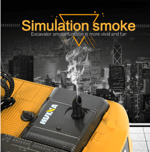 Huina 580 V4 Simulation Smoke 2019 Advanced RC Excavator